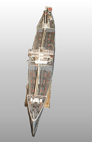 Model of Tanker Azneft'