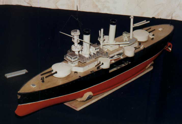 Model of Battleship Sevastopol